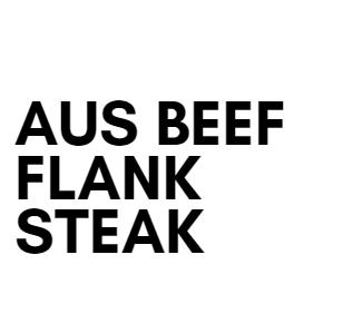 Australian Beef Flank Steak