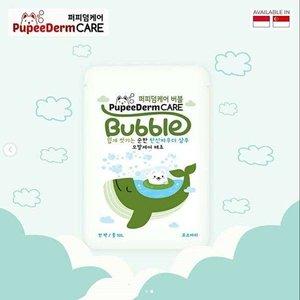 Pupeederm Bubble 2in1 Shampoo + Spa - Green Hair Care Rosemary