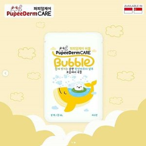 Pupeederm Bubble 2in1 Shampoo + Spa - Moisturising Care Jasmine Rose
