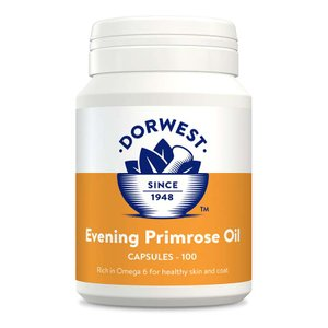 DORWEST - Evening Primrose Oil Capsules For Dogs And Cats