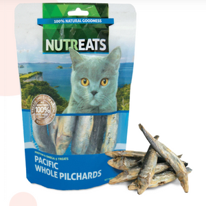 Nutreats Freeze Dried - New Pacific Whole Pilchards