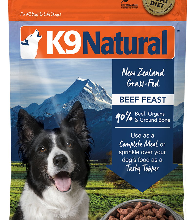 K9 Natural Freeze Dried Beef Feast