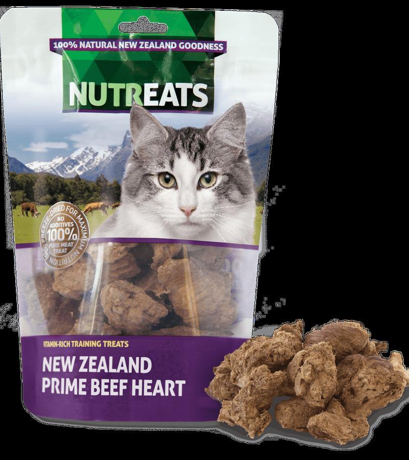 Nutreats Freeze Dried Cat - Prime Beef Heart