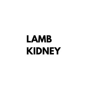 Lamb Kidney