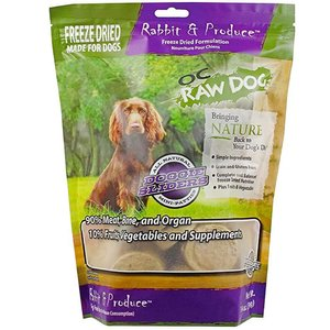 OC Raw Dog Freeze Dried Raw Sliders For Dogs (Rabbit/ Goat)