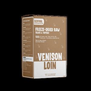 Pawspiracy - Freeze Dried Free Range Venison Loin