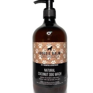 The Doggie Balm Natural Coconut 2-in-1 Dog Shampoo and Conditioner