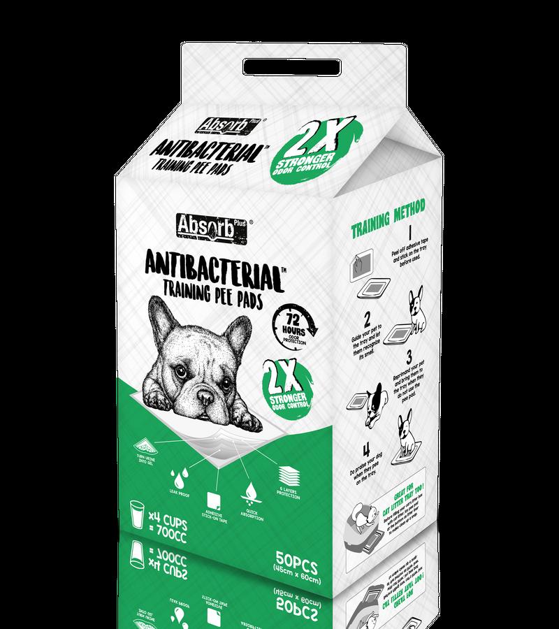Absorb Plus Antibacterial Pet Sheets