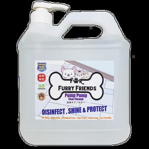 For Furry Friends Pump Pump Floor Cleaner 1.9L & 4L