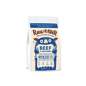RAWR RAWR Beef & MackerelFreeze Dried Raw Diet
