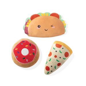 Mini Trendy Foods, Dog Squeaky Plush Toy