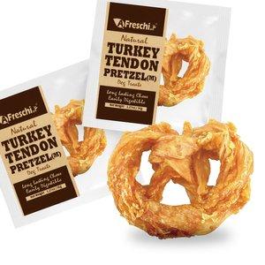Afreschi Natural Turkey Tendon Pretzel