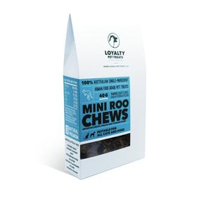 Loyalty Pet Treats Mini Roo Chews 40g