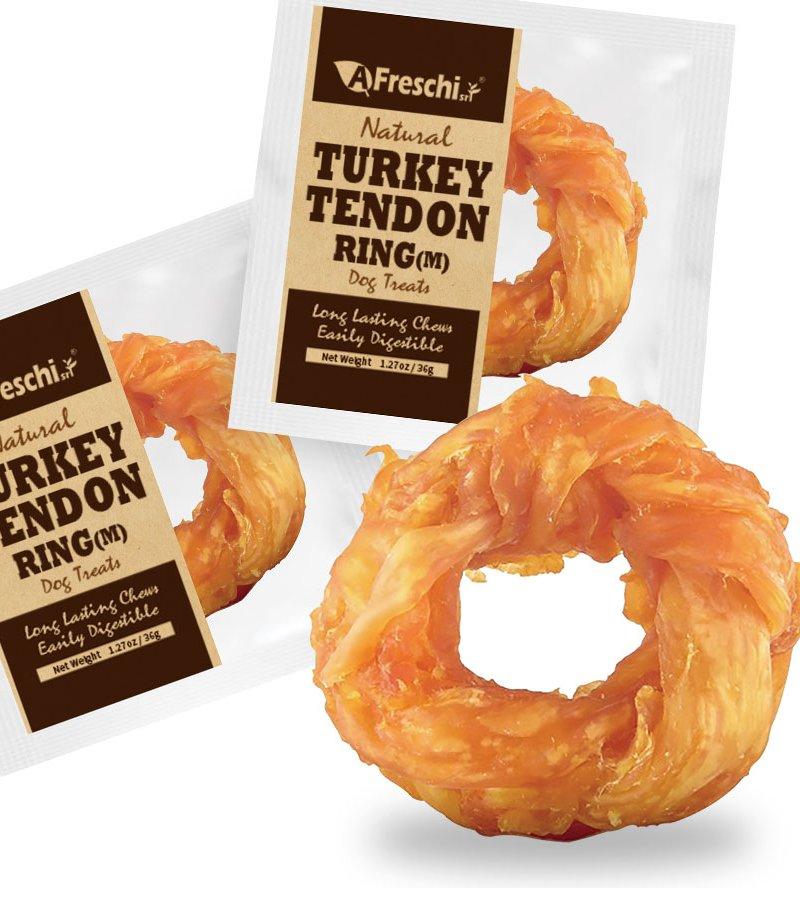 Afreschi Natural Turkey Tendon Ring