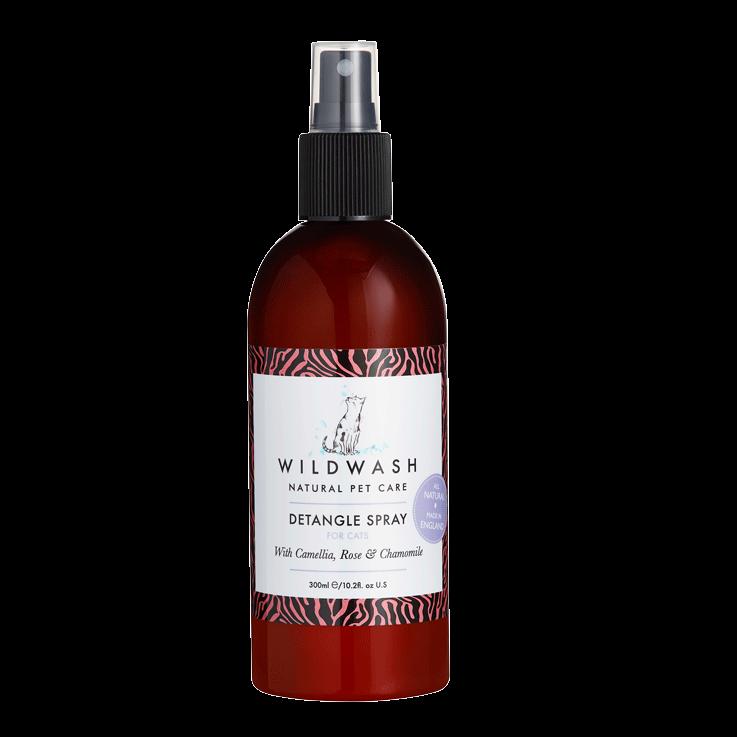 WildWash PRO Detangle Spray for Cats 300ml