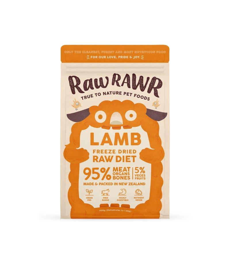 RAWR RAWR Freeze Dried Lamb Balanced Diet