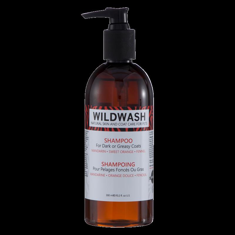 WildWash PRO Shampoo for Dark or Greasy Coats 300ml