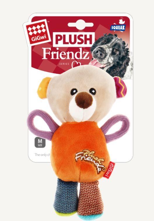 Plush Friendz with Squeaker