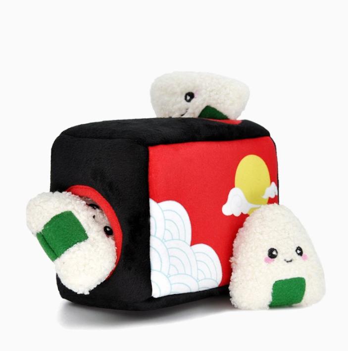 HugSmart - Bento Box Burrow Dog Toy