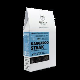 Loyalty Pet Treats Kangaroo Steak 70g