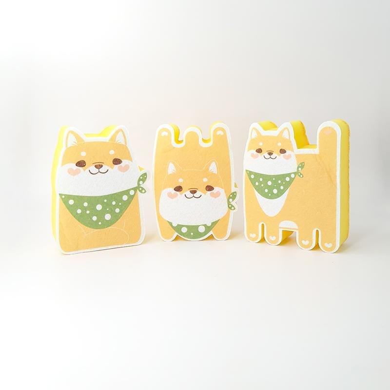 For Furry Friends Cute Dog Sponge